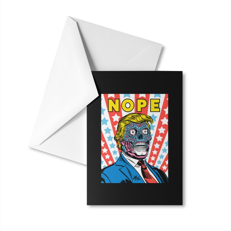 NOPE Accessories Greeting Card by Mitch O'Connell