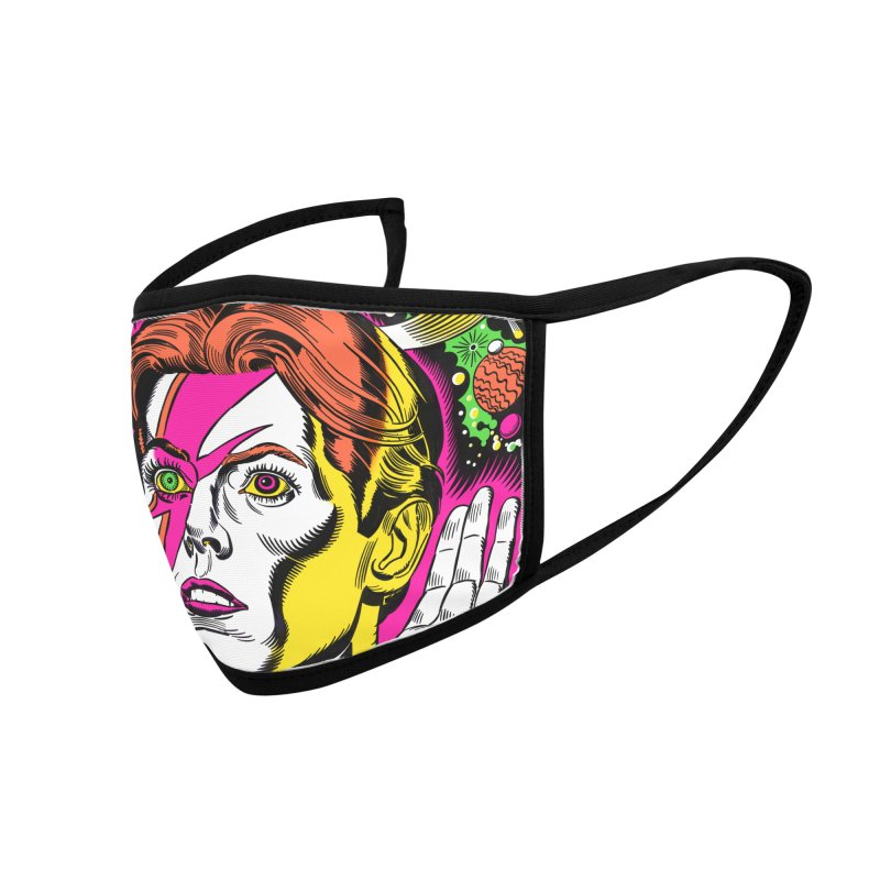 Starman! Accessories Face Mask by Mitch O'Connell