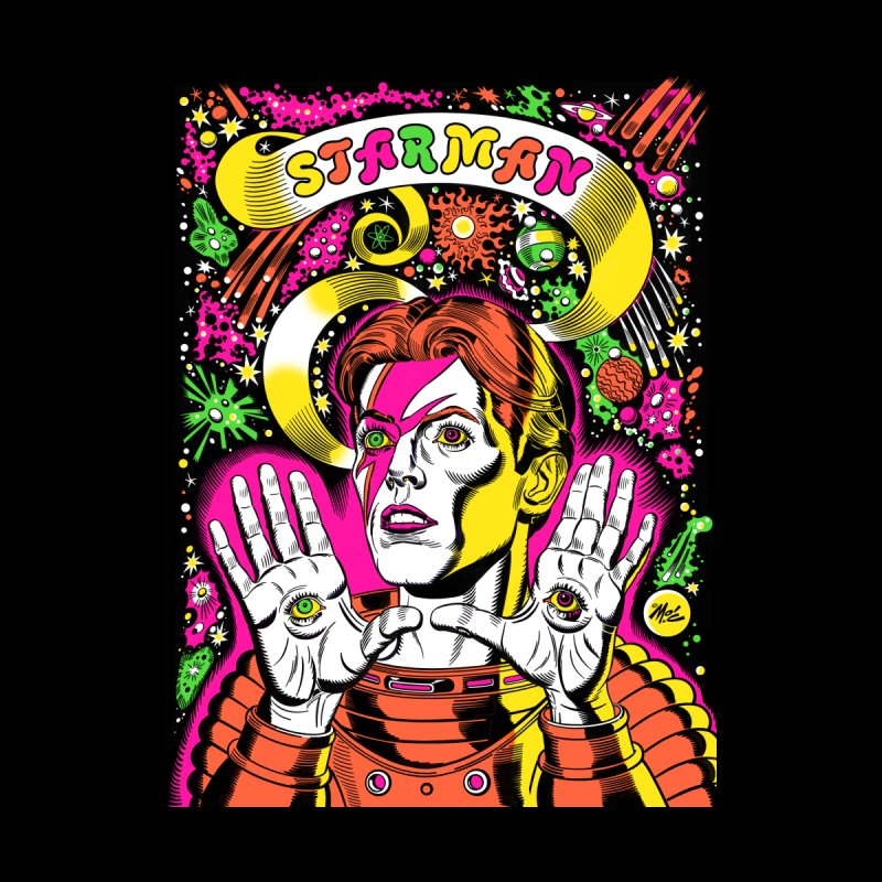 Starman! Accessories Greeting Card by Mitch O'Connell