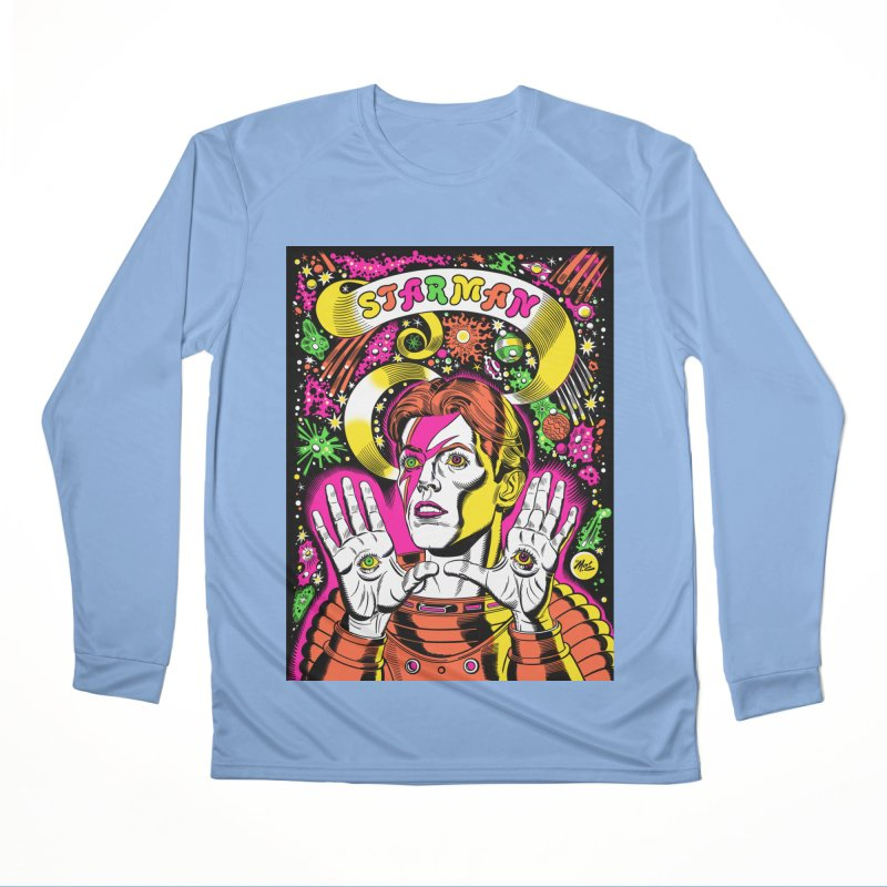 Starman! Men's Longsleeve T-Shirt by Mitch O'Connell