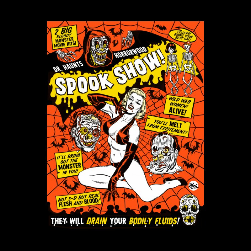 DR. HAUNTS HORRORWOOD SPOOK SHOW!   by Mitch O'Connell