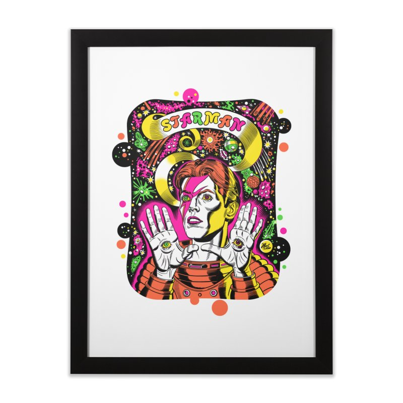 Starman! Home Framed Fine Art Print by Mitch O'Connell