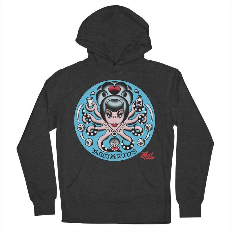 AQUARIUS! Women's Pullover Hoody by Mitch O'Connell