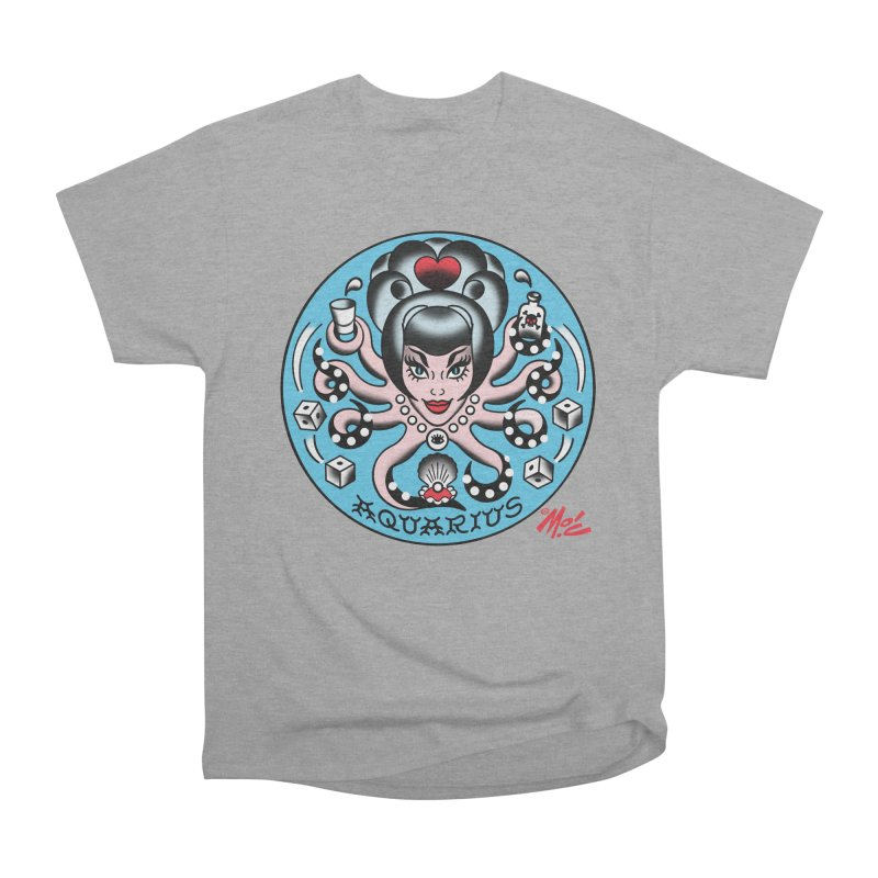 AQUARIUS! Women's Classic Unisex T-Shirt by Mitch O'Connell
