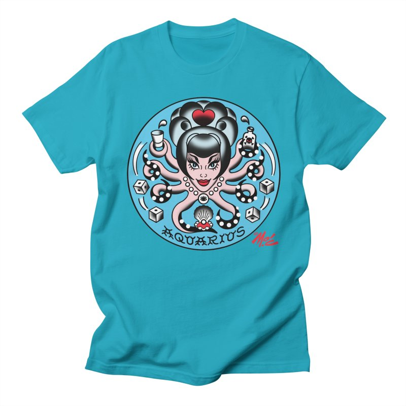 AQUARIUS! Men's T-shirt by Mitch O'Connell
