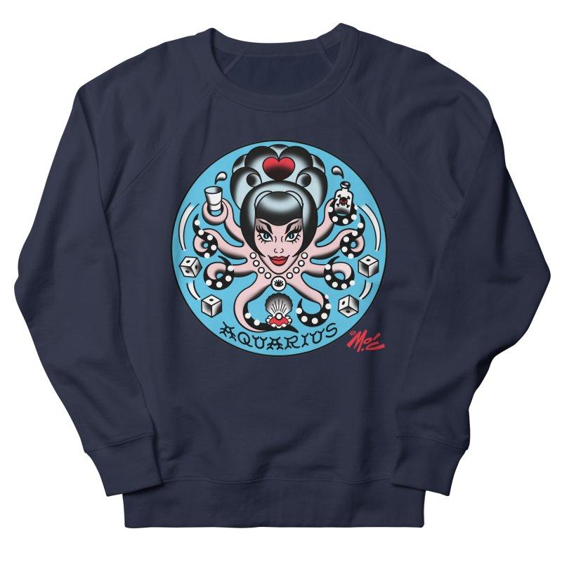 AQUARIUS! Men's Sweatshirt by Mitch O'Connell