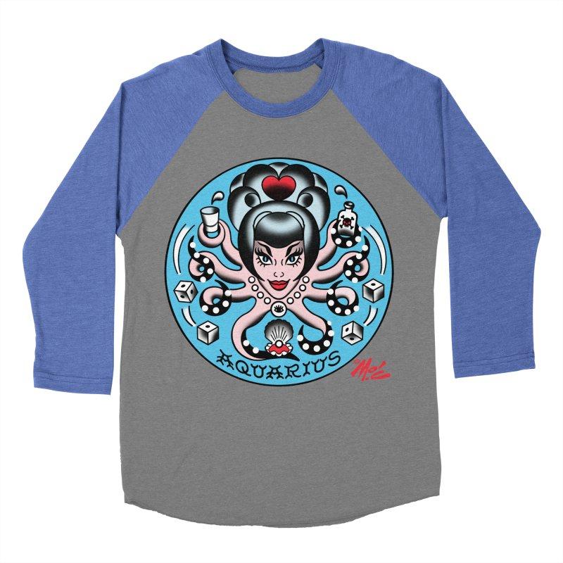 AQUARIUS! Women's Baseball Triblend T-Shirt by Mitch O'Connell