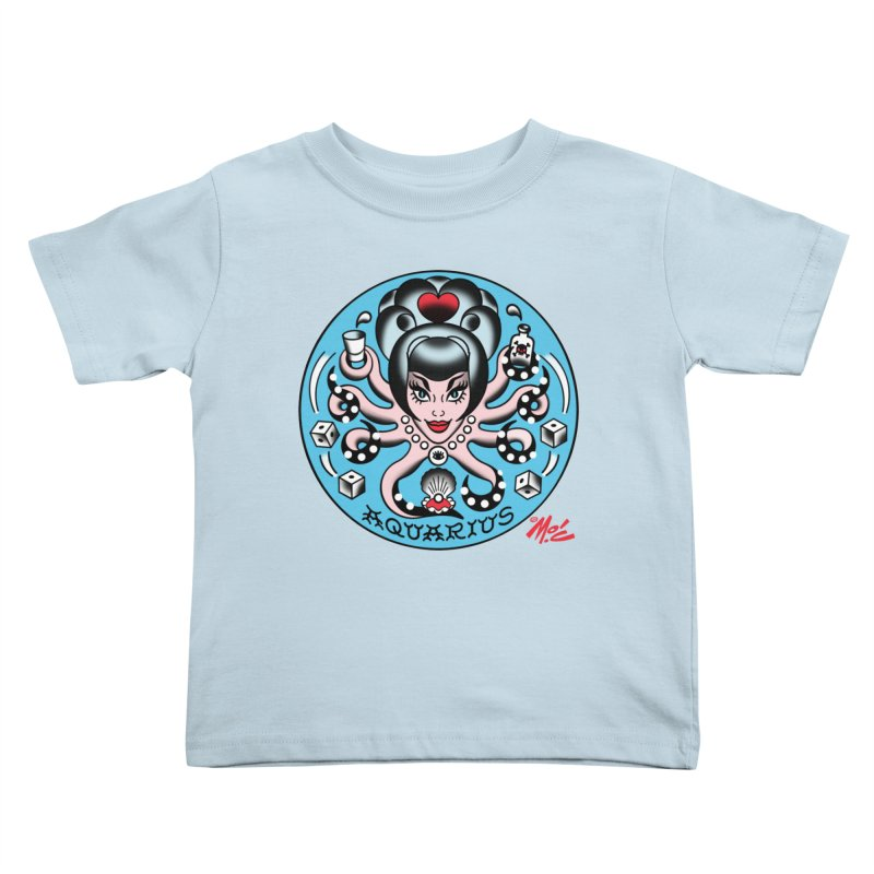 AQUARIUS! Kids Toddler T-Shirt by Mitch O'Connell