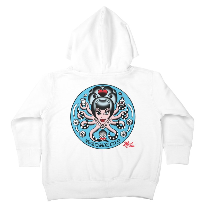 AQUARIUS! Kids Toddler Zip-Up Hoody by Mitch O'Connell