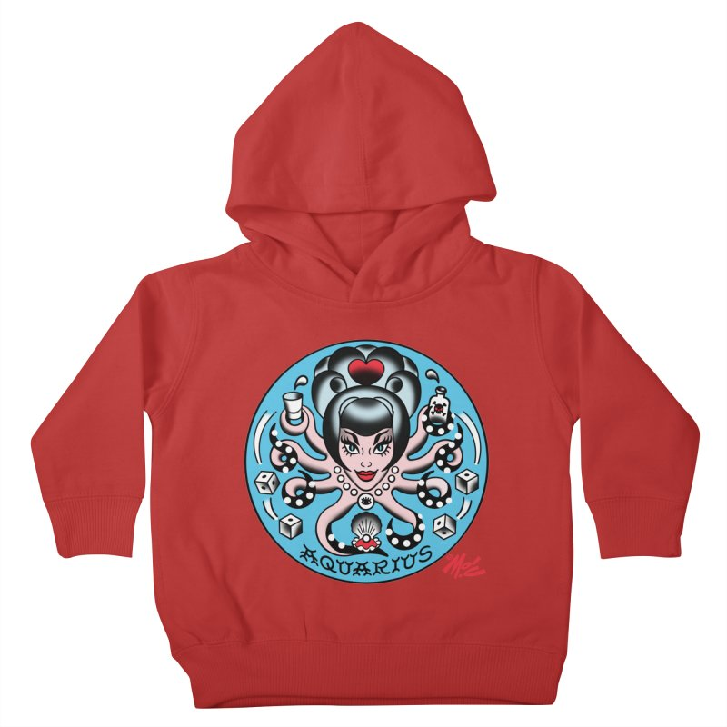 AQUARIUS! Kids Toddler Pullover Hoody by Mitch O'Connell