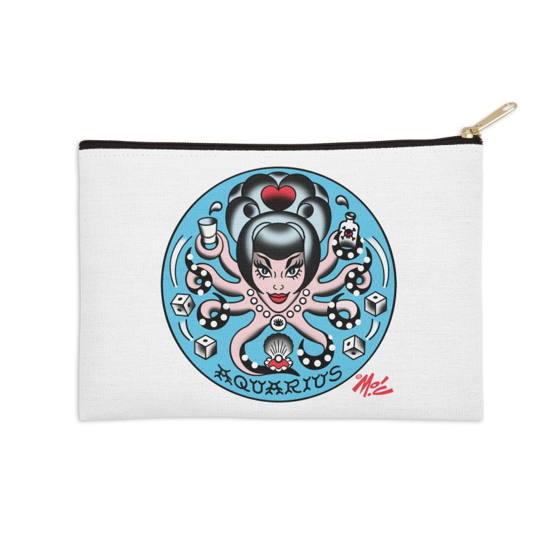 AQUARIUS! Accessories Zip Pouch by Mitch O'Connell