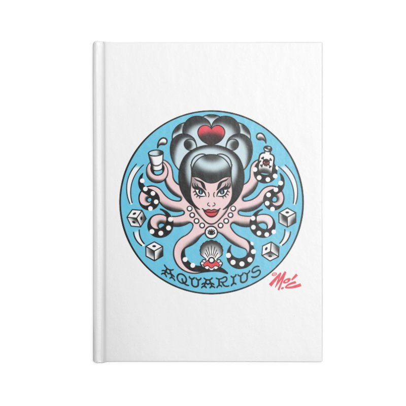 AQUARIUS! Accessories Notebook by Mitch O'Connell