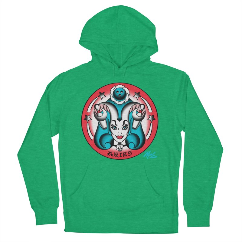 ARIES! Women's Pullover Hoody by Mitch O'Connell