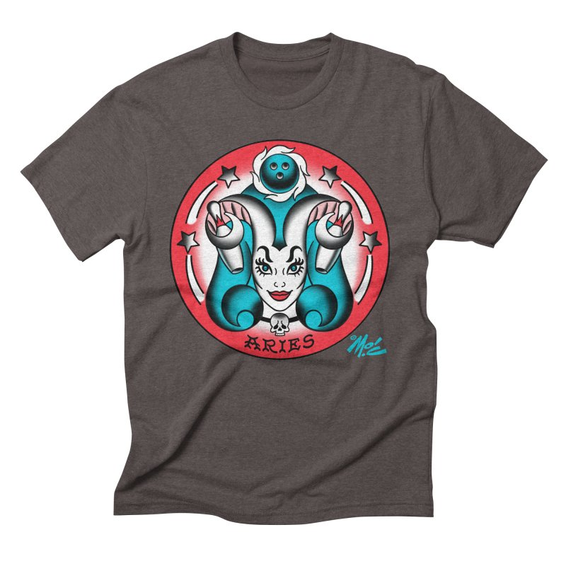 ARIES! Men's Triblend T-shirt by Mitch O'Connell
