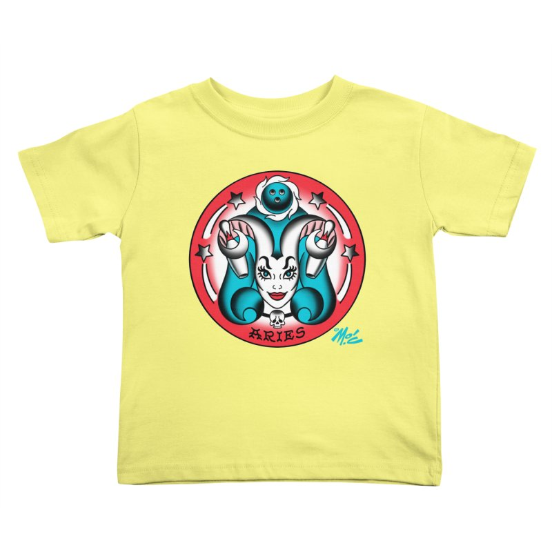 ARIES! Kids Toddler T-Shirt by Mitch O'Connell