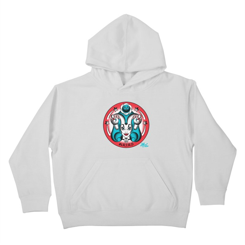 ARIES! Kids Pullover Hoody by Mitch O'Connell