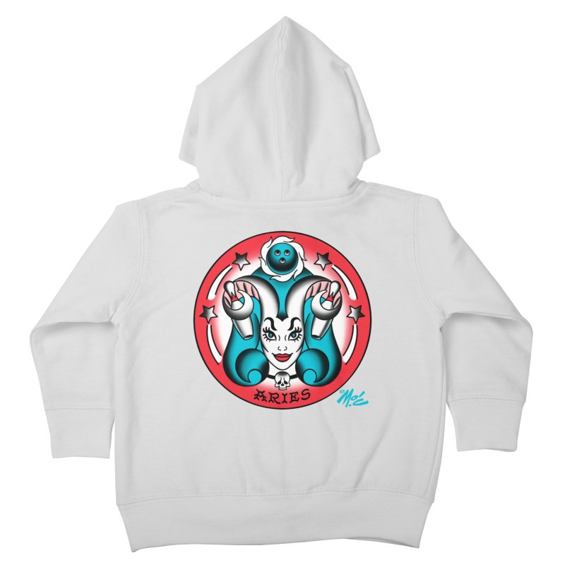 ARIES! Kids Toddler Zip-Up Hoody by Mitch O'Connell