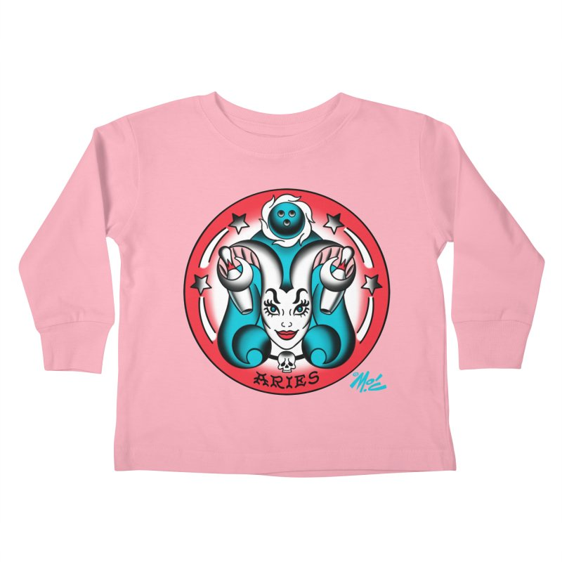 ARIES! Kids Toddler Longsleeve T-Shirt by Mitch O'Connell