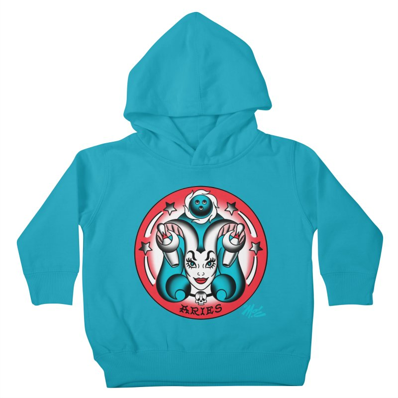 ARIES! Kids Toddler Pullover Hoody by Mitch O'Connell