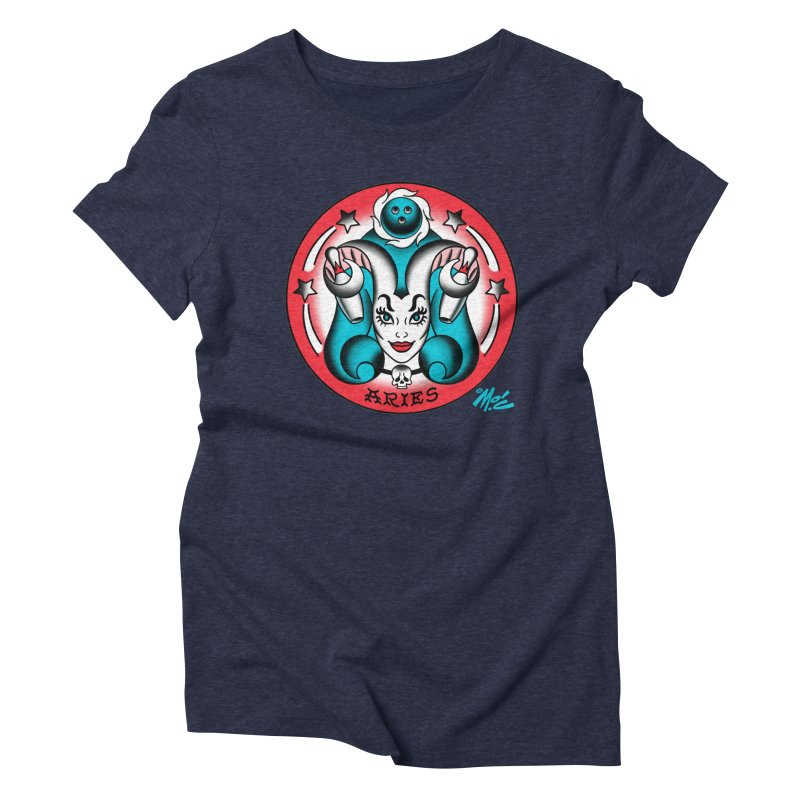 ARIES! Women's Triblend T-shirt by Mitch O'Connell