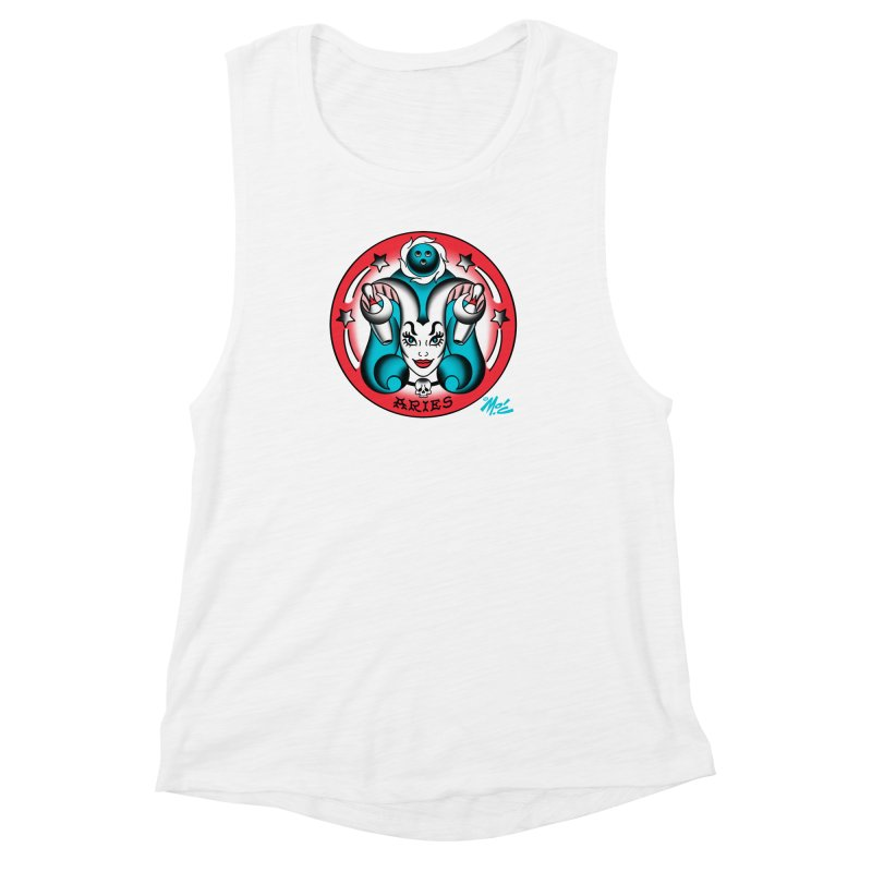 ARIES! Women's Muscle Tank by Mitch O'Connell