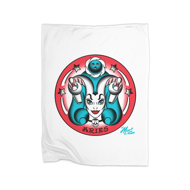 ARIES! Home Blanket by Mitch O'Connell