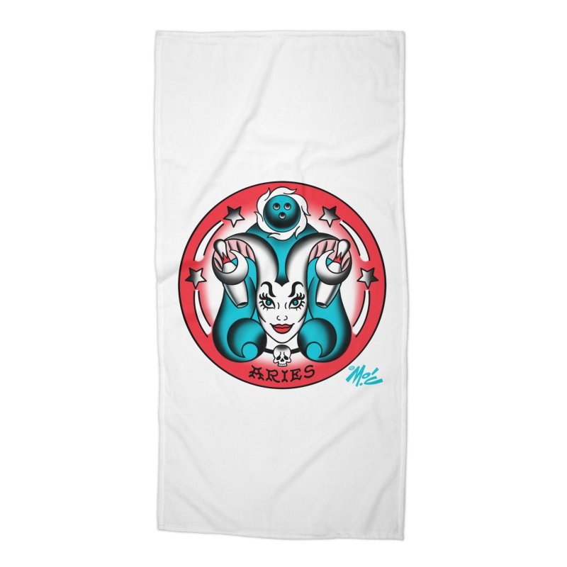 ARIES! Accessories Beach Towel by Mitch O'Connell