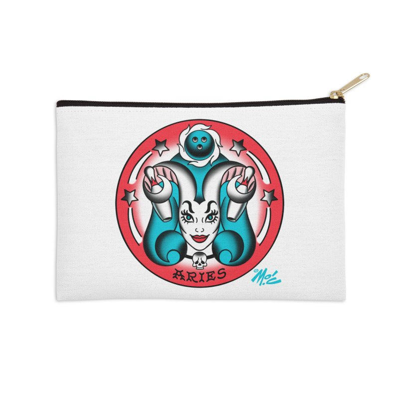 ARIES! Accessories Zip Pouch by Mitch O'Connell