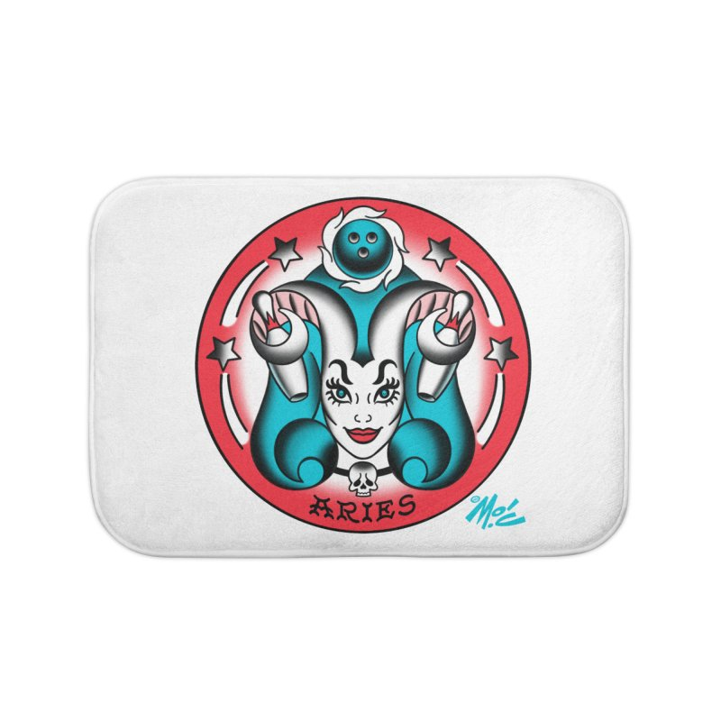 ARIES! Home Bath Mat by Mitch O'Connell
