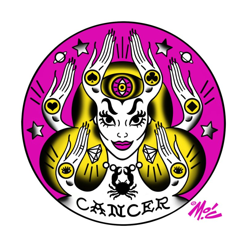 CANCER! Home Fine Art Print by Mitch O'Connell