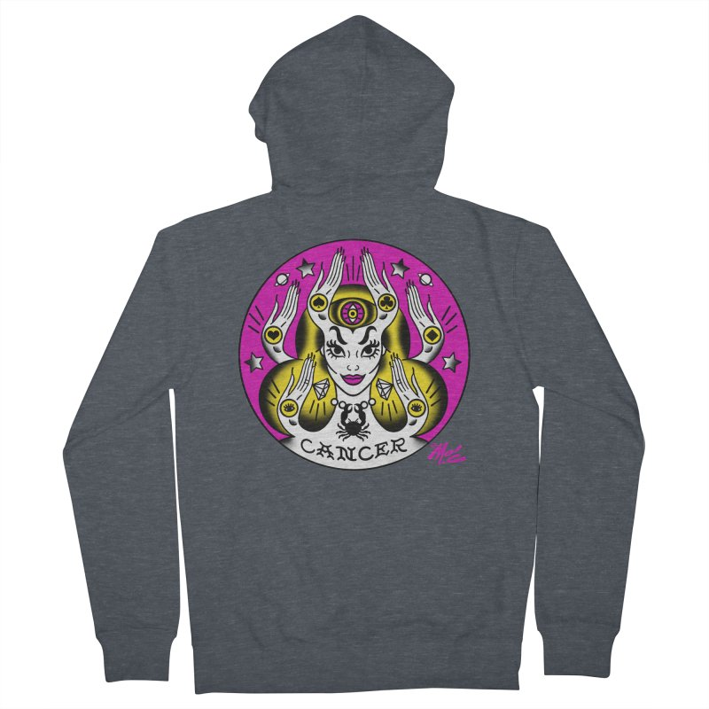 CANCER! Women's Zip-Up Hoody by Mitch O'Connell