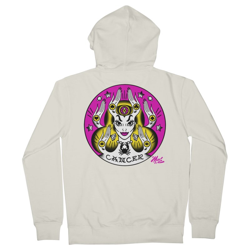 CANCER! Men's Zip-Up Hoody by Mitch O'Connell