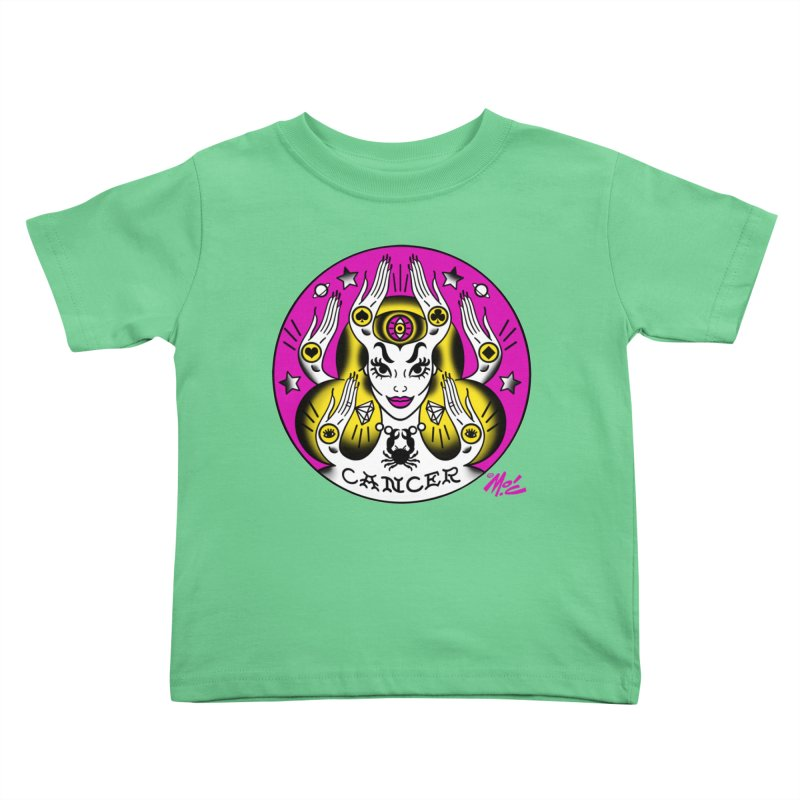 CANCER! Kids Toddler T-Shirt by Mitch O'Connell