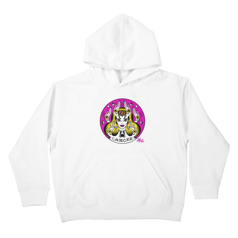 CANCER! Kids Pullover Hoody by Mitch O'Connell