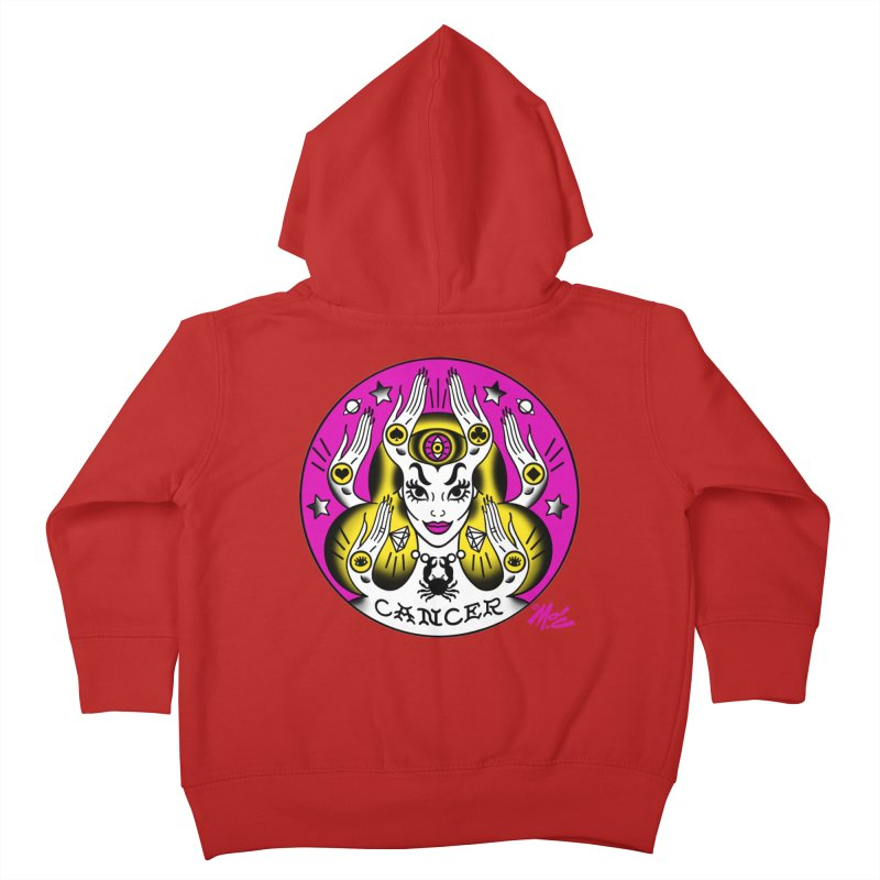 CANCER! Kids Toddler Zip-Up Hoody by Mitch O'Connell