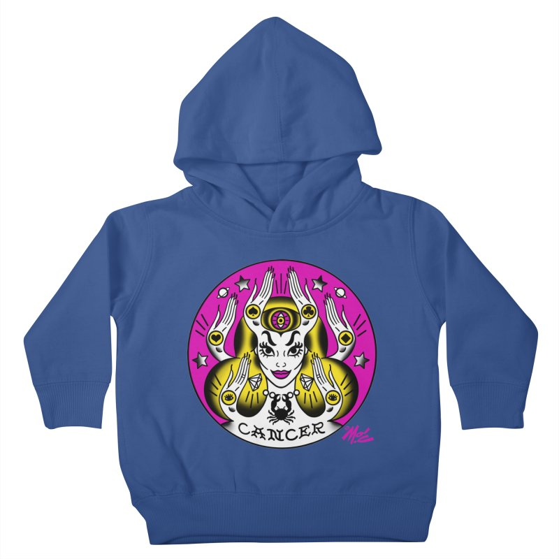 CANCER! Kids Toddler Pullover Hoody by Mitch O'Connell