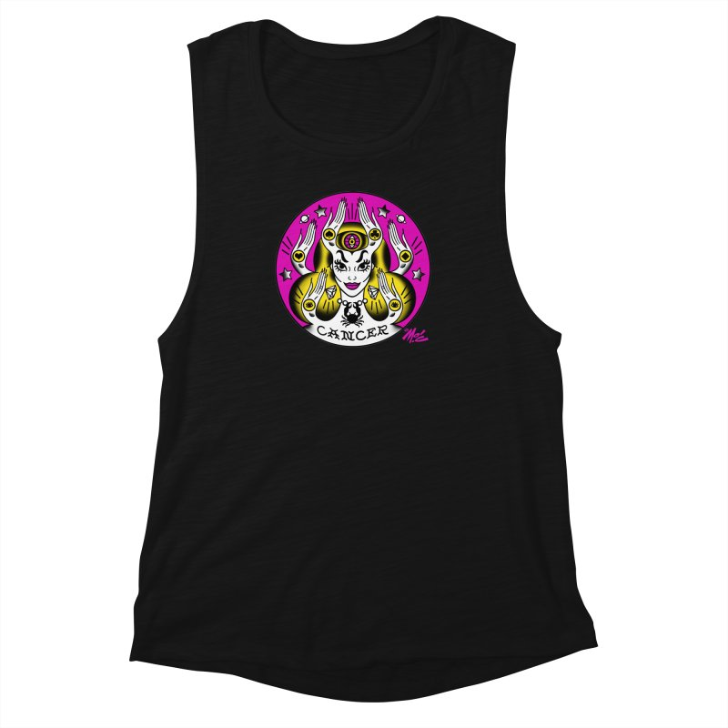 CANCER! Women's Muscle Tank by Mitch O'Connell