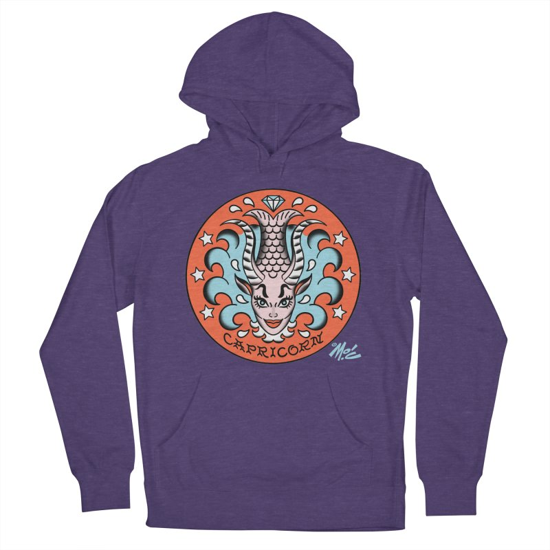 CAPRICORN! Women's Pullover Hoody by Mitch O'Connell