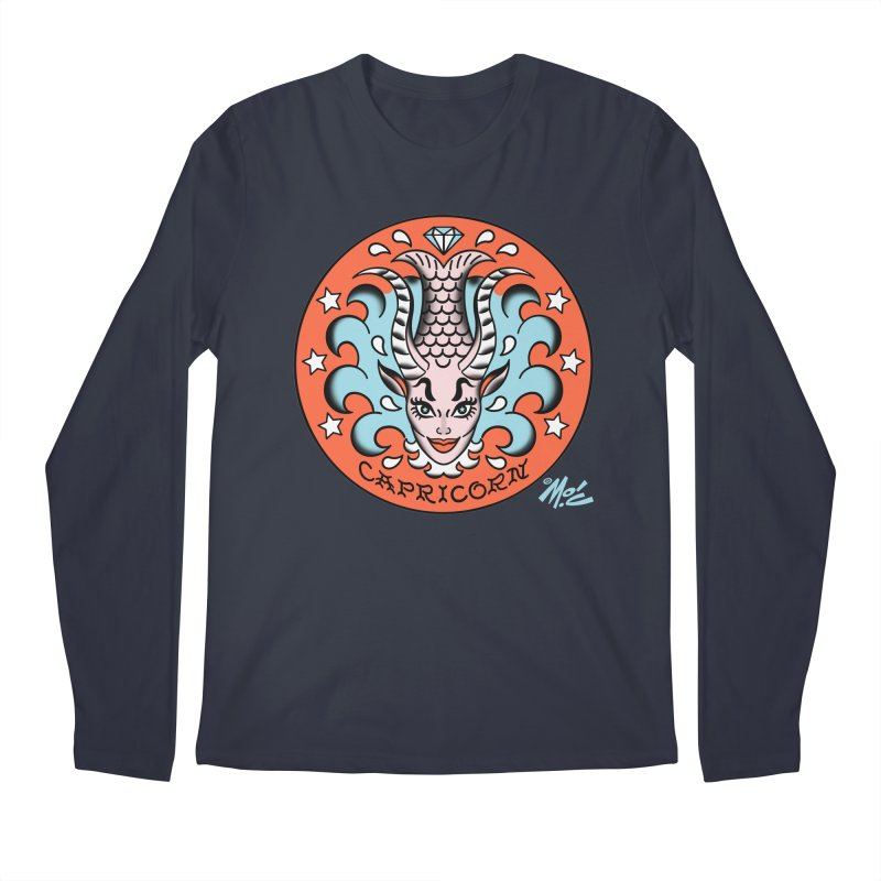 CAPRICORN! Men's Longsleeve T-Shirt by Mitch O'Connell