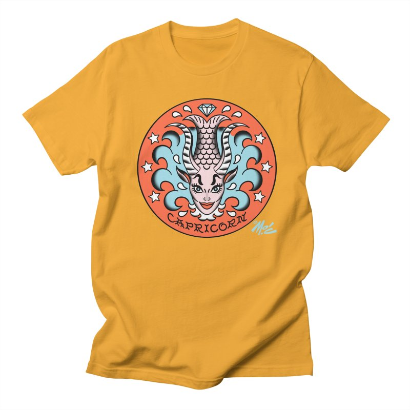 CAPRICORN! Men's T-shirt by Mitch O'Connell