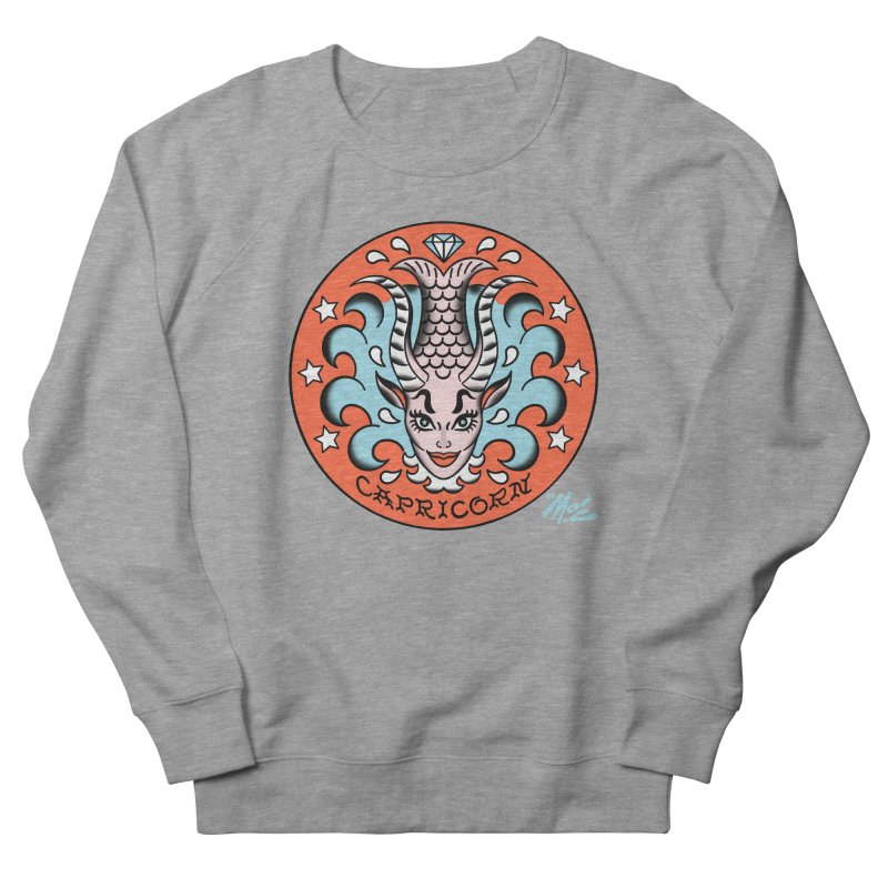 CAPRICORN! Women's Sweatshirt by Mitch O'Connell