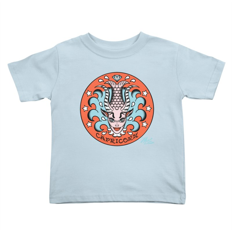 CAPRICORN! Kids Toddler T-Shirt by Mitch O'Connell