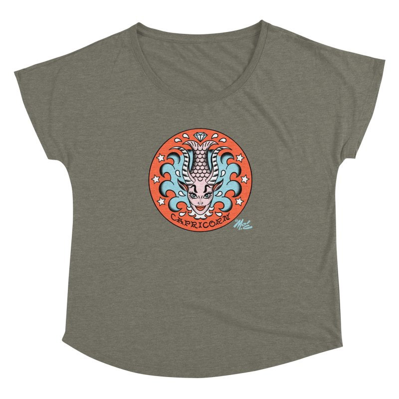 CAPRICORN! Women's Dolman by Mitch O'Connell