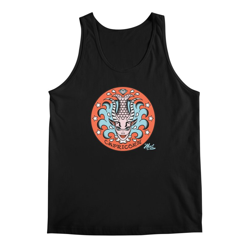 CAPRICORN! Men's Tank by Mitch O'Connell