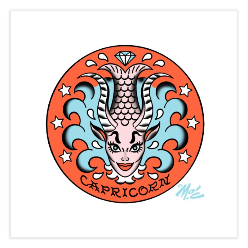 CAPRICORN! Home Fine Art Print by Mitch O'Connell