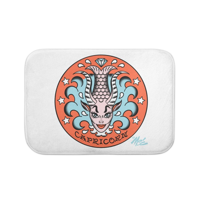 CAPRICORN! Home Bath Mat by Mitch O'Connell
