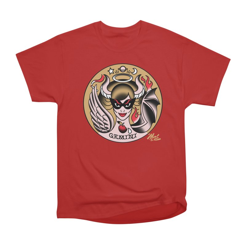 GEMINI! Women's Classic Unisex T-Shirt by Mitch O'Connell