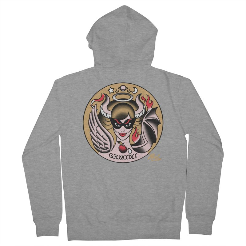GEMINI! Women's Zip-Up Hoody by Mitch O'Connell