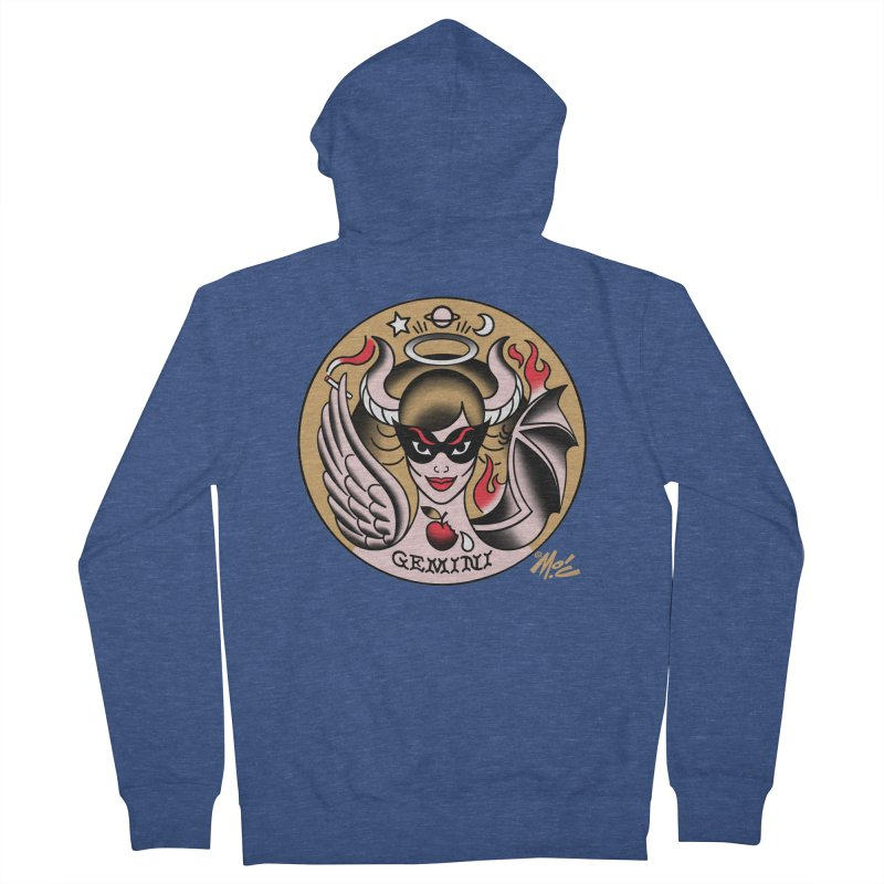 GEMINI! Men's Zip-Up Hoody by Mitch O'Connell