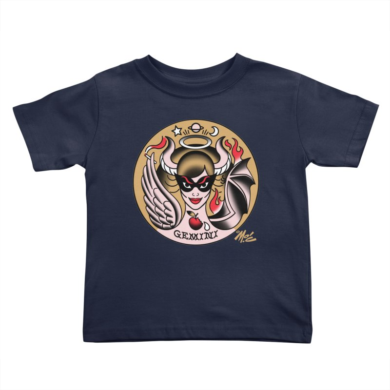 GEMINI! Kids Toddler T-Shirt by Mitch O'Connell